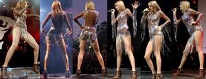 Taylor Swift Video Luciendo Sus Maravillosas Piernas En El Radio Big Weekend 2015