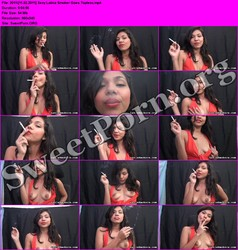 LatinSmokers.com [11.02.2011] Sexy Latina Smoker Goes Topless Thumbnail