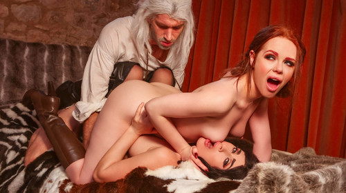 Digital Playground - Ella Hughes, Olive Glass (The Bewitcher A DP XXX Parody Episode 4)