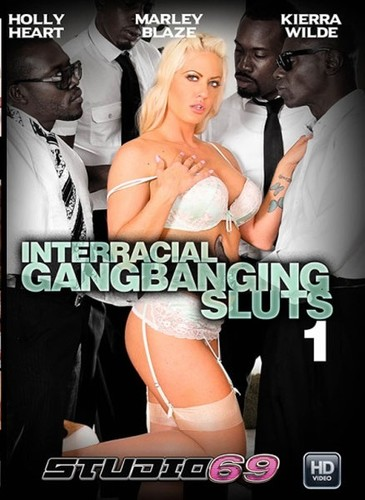 Interracial Gangbanging Sluts (2017/WEBRip/SD)