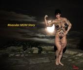 kakaka - Muscular MOM story - Incest comic