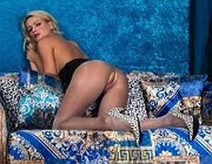 Vanessa Scott - Lace Topped Slinkster