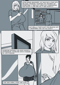 Breasts expansion comic Retrospective by Degeneratepai