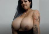 Latina testing Masturbator