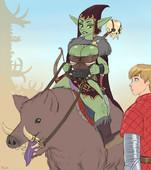 Flick - Goblin-chan (Warcraft)